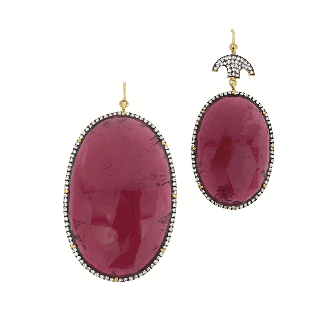 Tourmaline Earrings - Lesley Ann Jewels