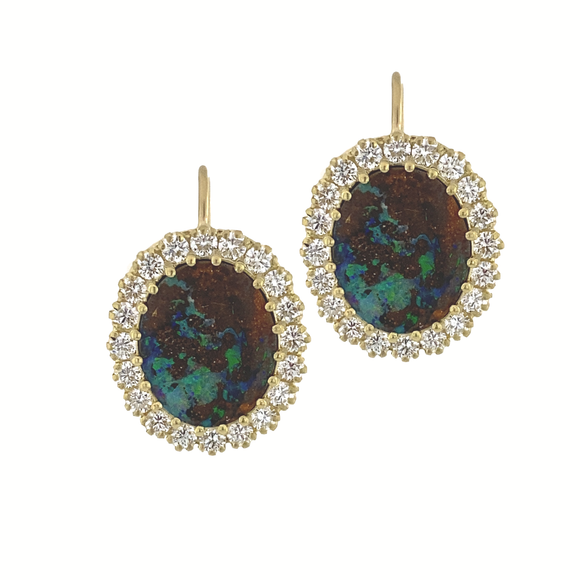Opal Earrings - Lesley Ann Jewels