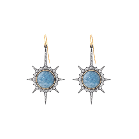 Stardrop Earrings - Lesley Ann Jewels
