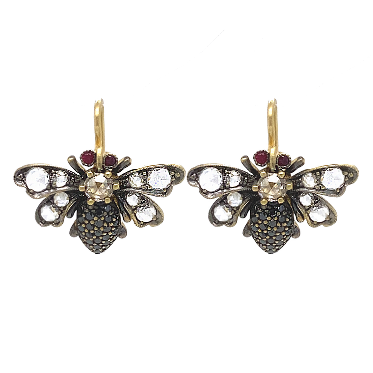 Bee Earrings - Lesley Ann Jewels