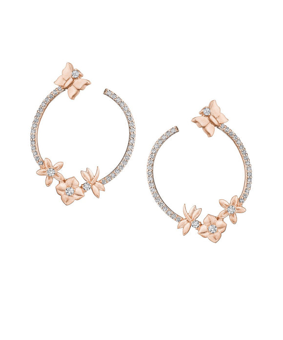 Enchanted Garden Wrap Earrings - Lesley Ann Jewels