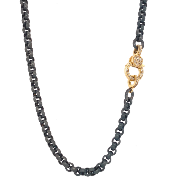 Sterling Rolo Chain - Lesley Ann Jewels