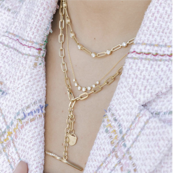 Phoebe Link Necklace - Lesley Ann Jewels