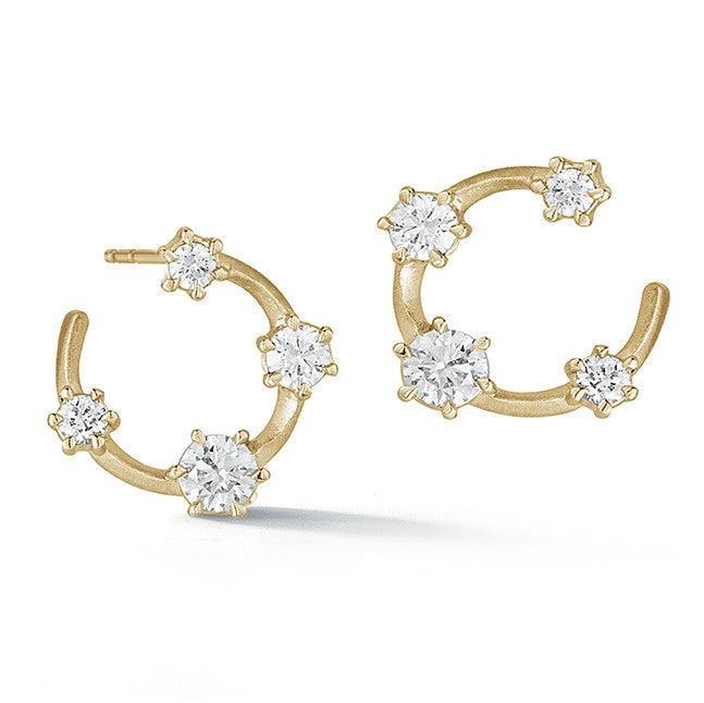 Small Kismet Hoops - Lesley Ann Jewels