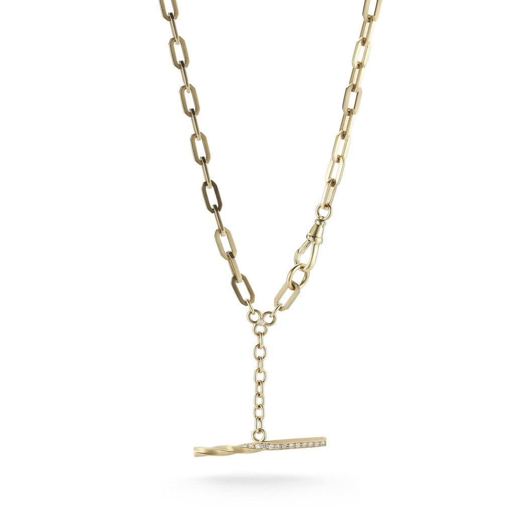 Kings Fob Necklace - Lesley Ann Jewels