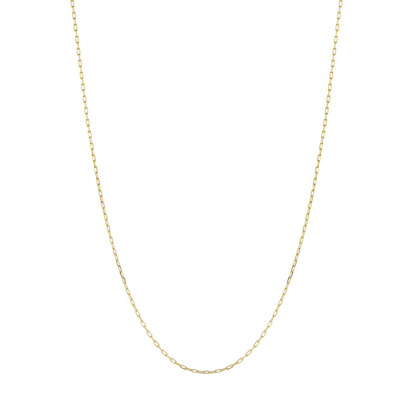 Rectangle Chain Necklace - Lesley Ann Jewels