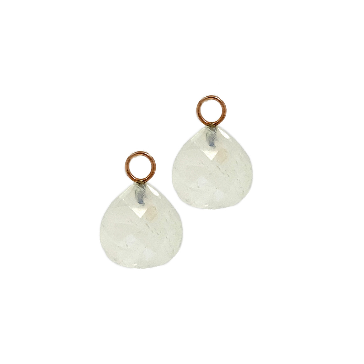 Moonstone Earring Charms