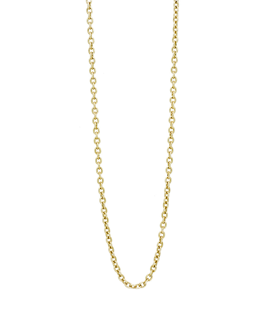 "28.5"" Yellow Gold Luca Chain - Lesley Ann Jewels"
