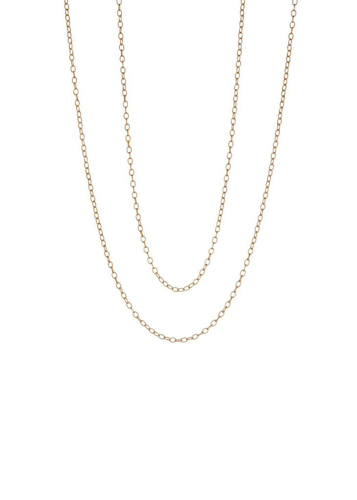 Rose Gold Link Chain - Lesley Ann Jewels