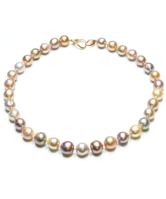 Freshwater Baroque pearl necklace - Lesley Ann Jewels