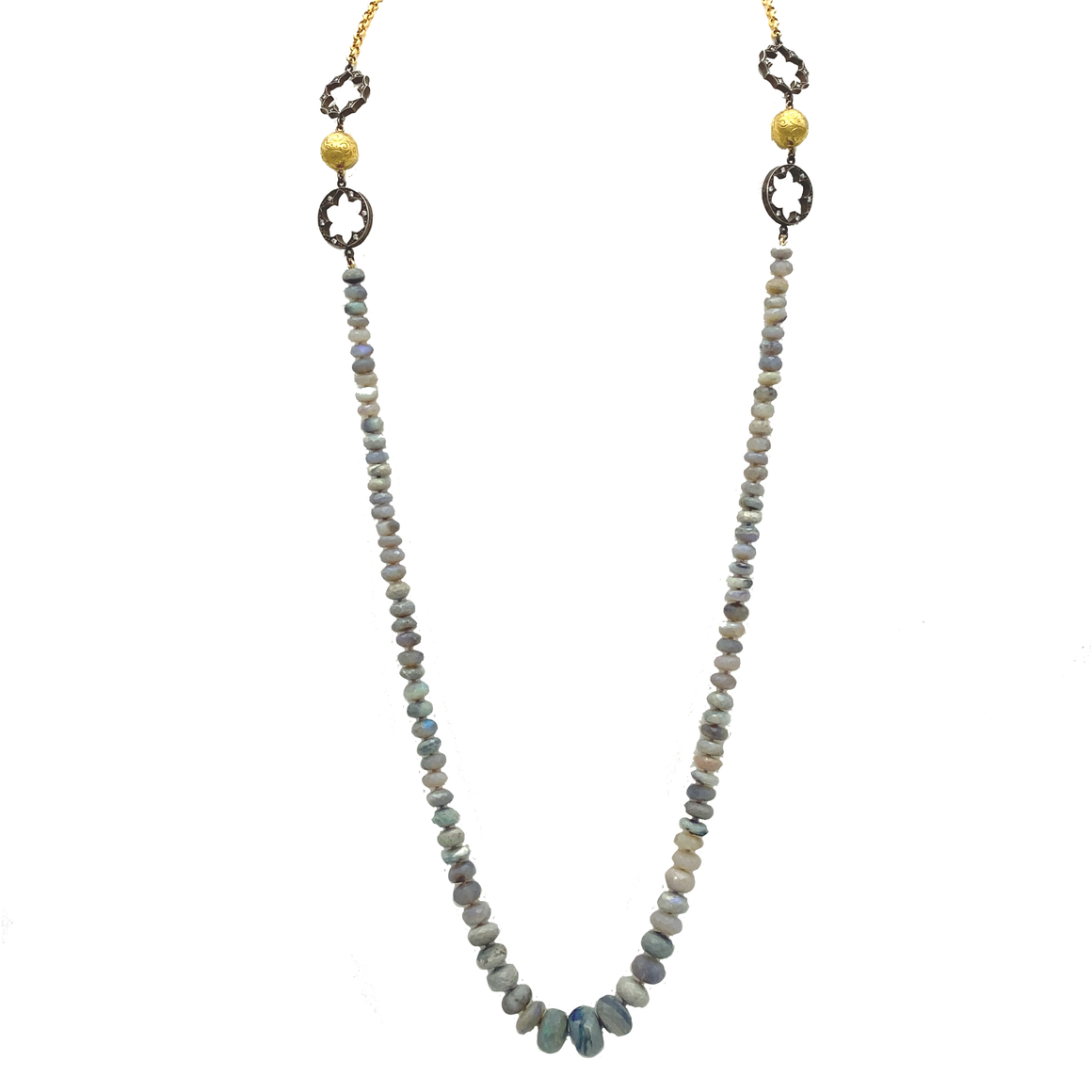 Australian Beaded Opal Necklace - Lesley Ann Jewels