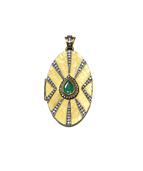 Art Deco Locket