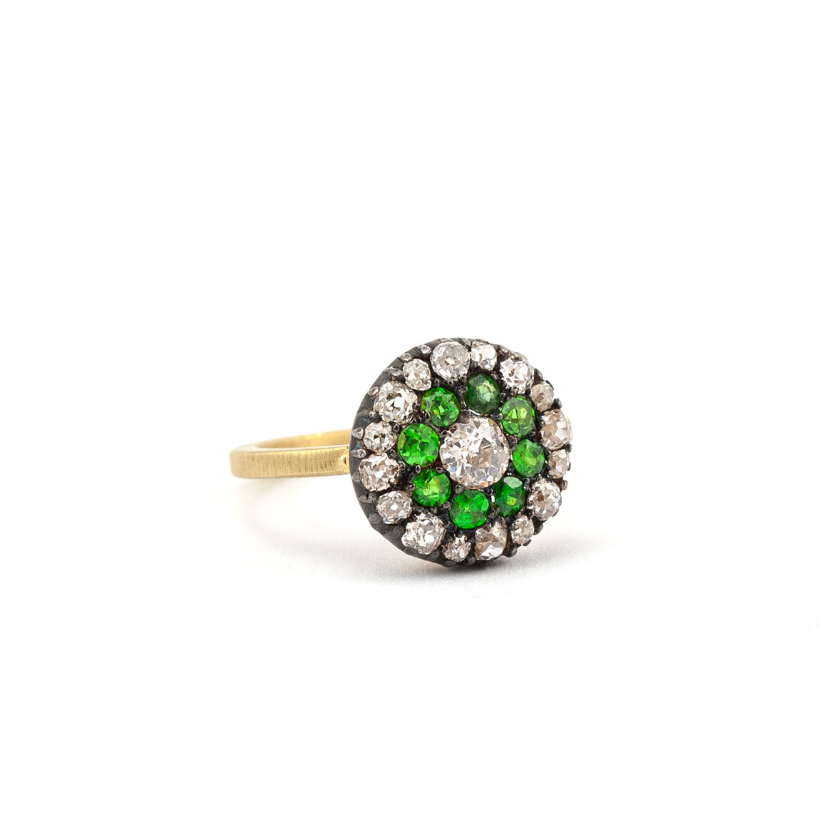 19th Century Vintage Demantoid Ring - Lesley Ann Jewels