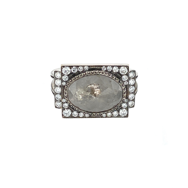 Renee Oval Ring - Lesley Ann Jewels