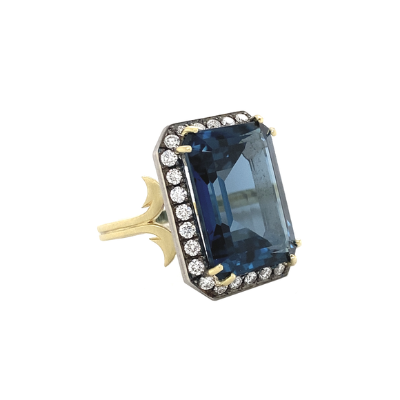 Topaz Ring - Lesley Ann Jewels
