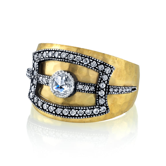 Diamond Cigar Band - Lesley Ann Jewels