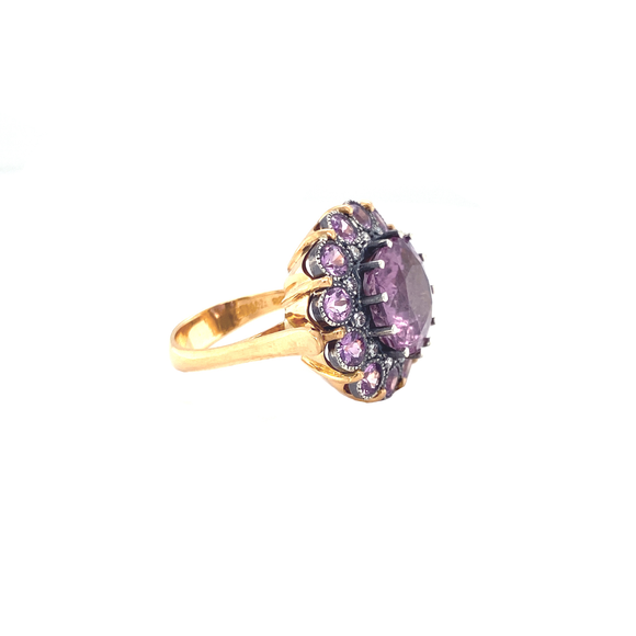 Pink Tourmaline Ring - Lesley Ann Jewels