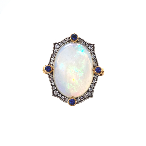 Opal Ring - Lesley Ann Jewels