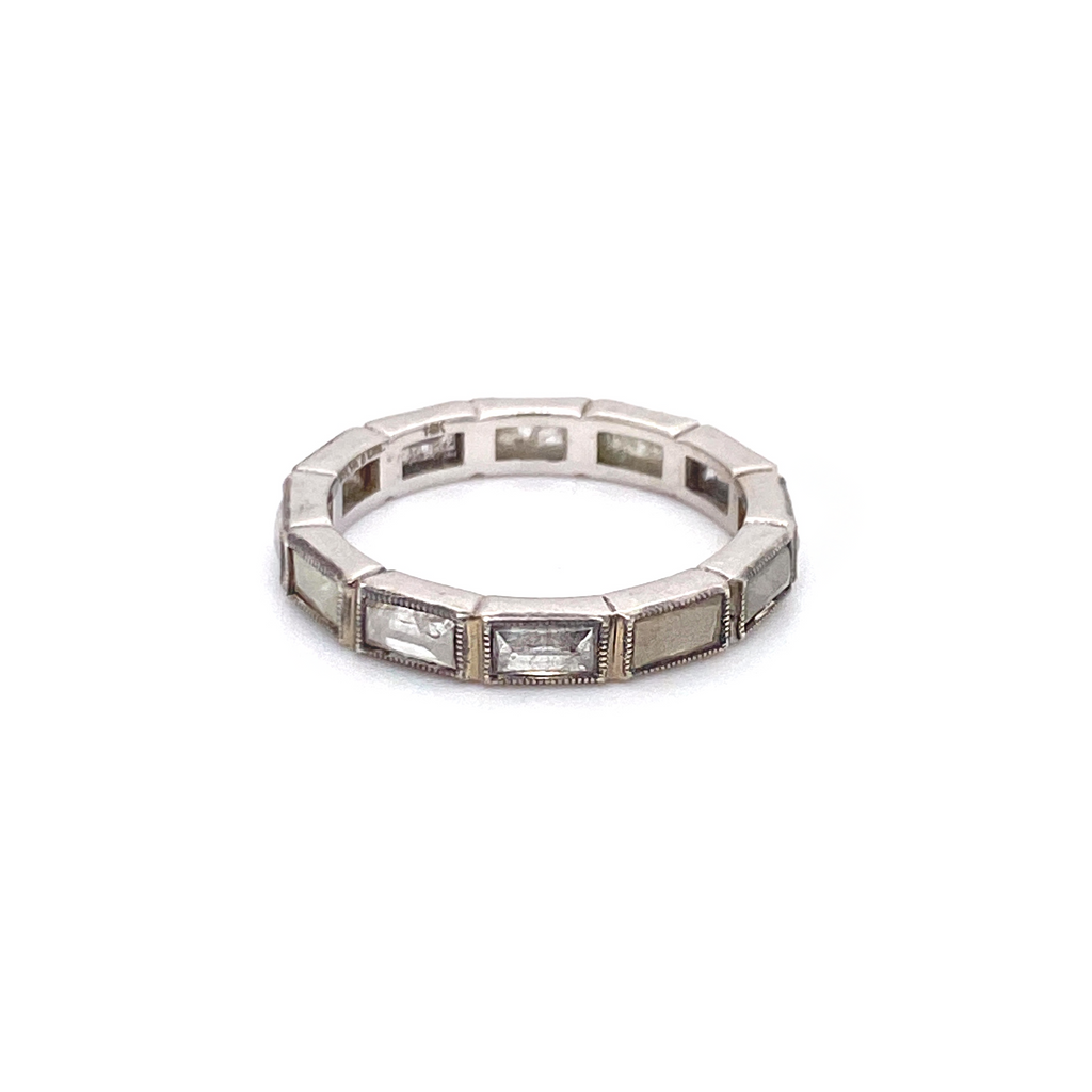 Rustic Diamond Band - Lesley Ann Jewels