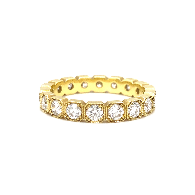 Diamond Eternity Band - Lesley Ann Jewels
