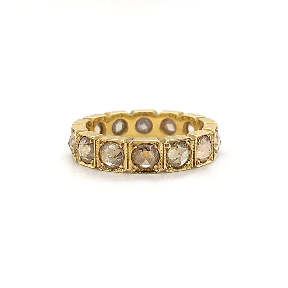 Champagne Diamond Band - Lesley Ann Jewels