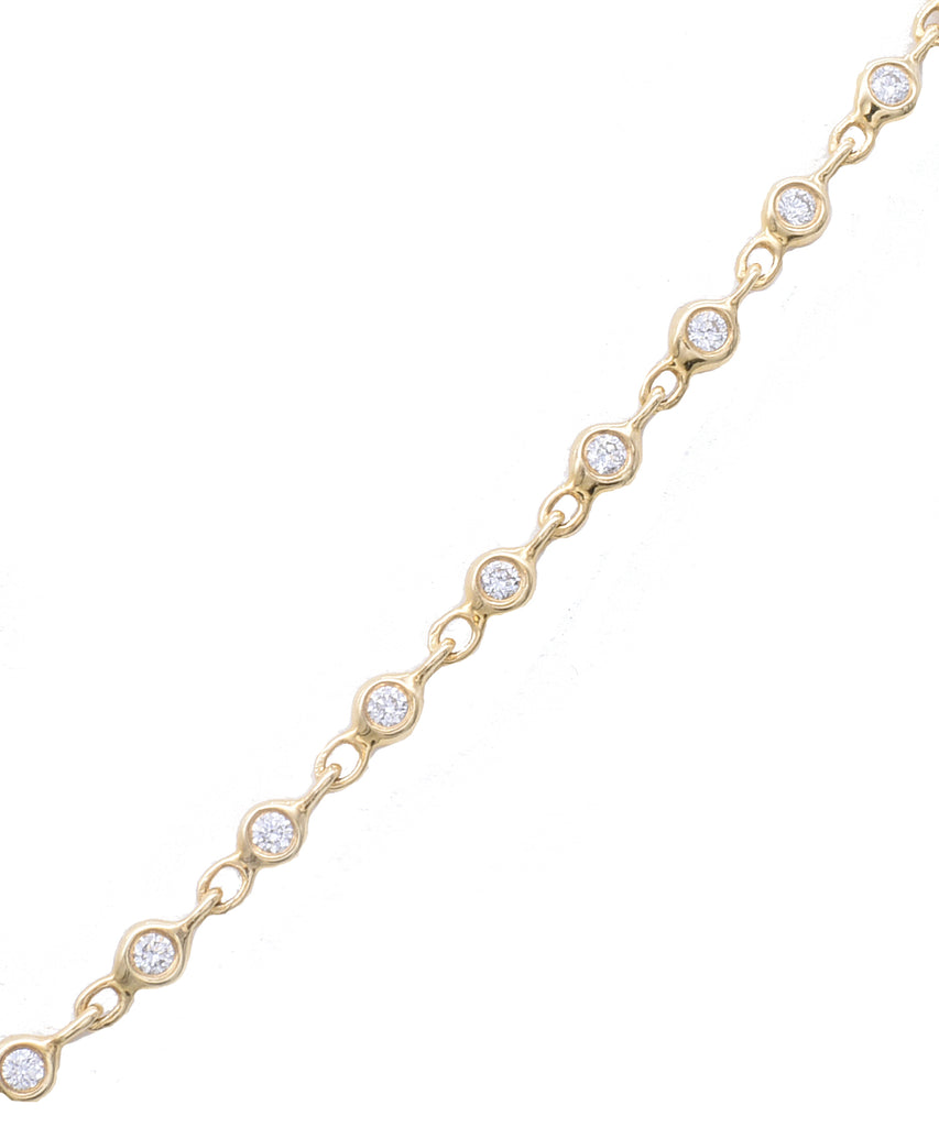 Delicate Diamond Necklace - Lesley Ann Jewels