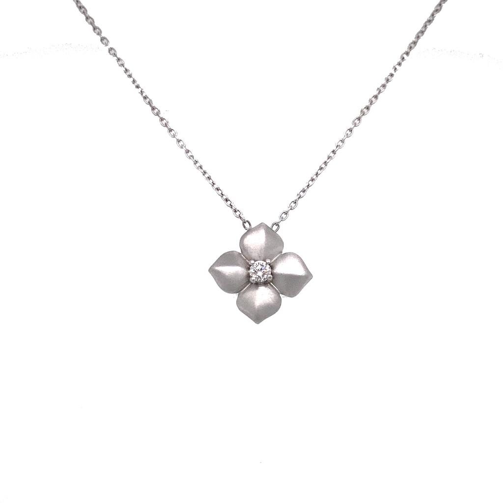 Small Flower Pendant - Lesley Ann Jewels