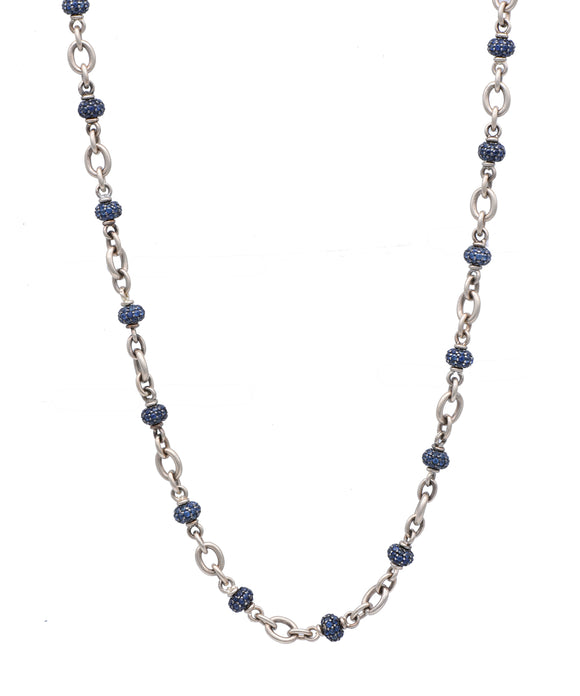 Sapphire Bead Necklace