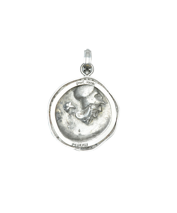 Ancient Greek Pegasus coin