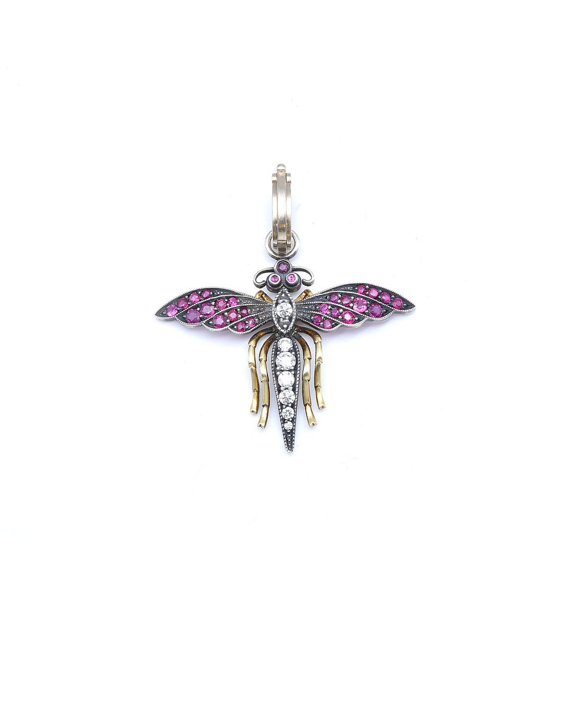 Fairy bug with rubies