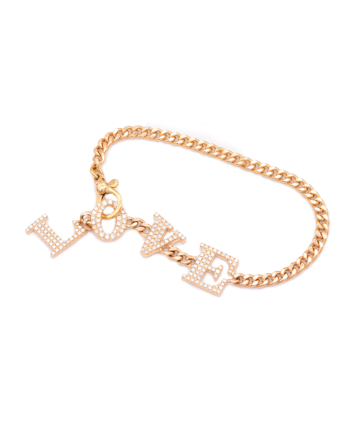 Diamond Love Bracelet - Lesley Ann Jewels