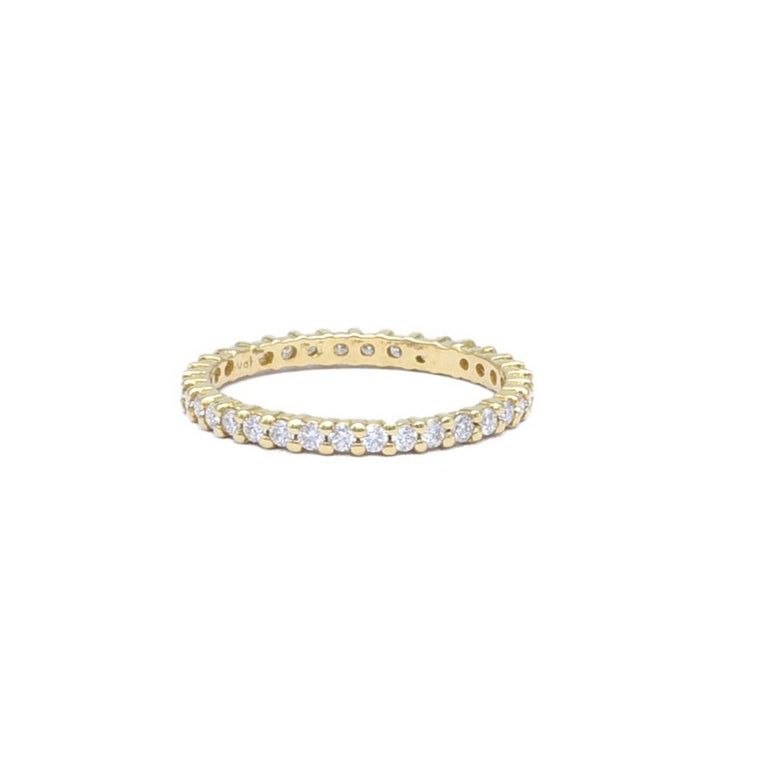 Prong Set Eternity Band - Lesley Ann Jewels