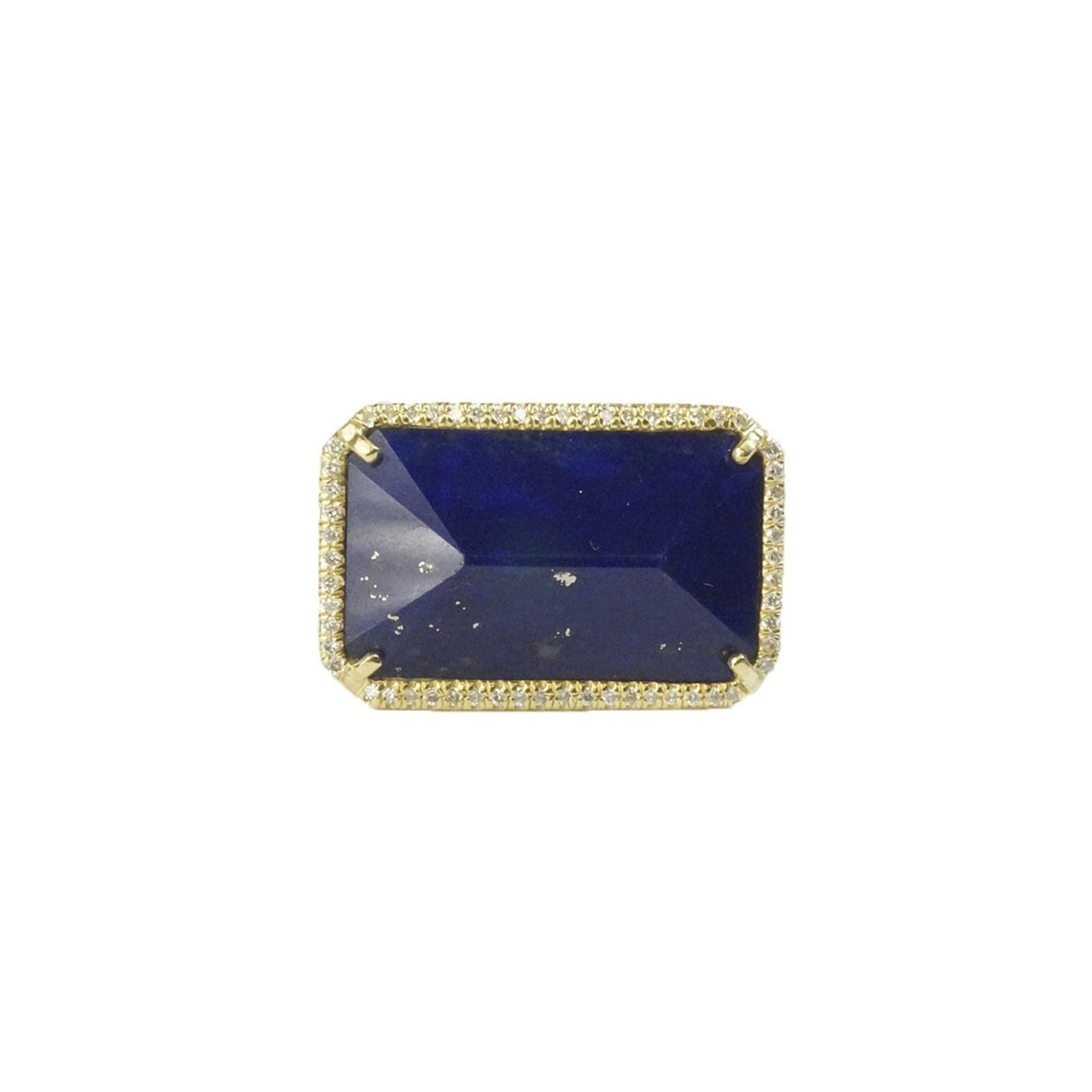 Lapis east-west ring - Lesley Ann Jewels