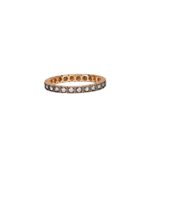 Rose gold box band