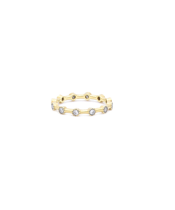 Diamond Dot Eternity Band
