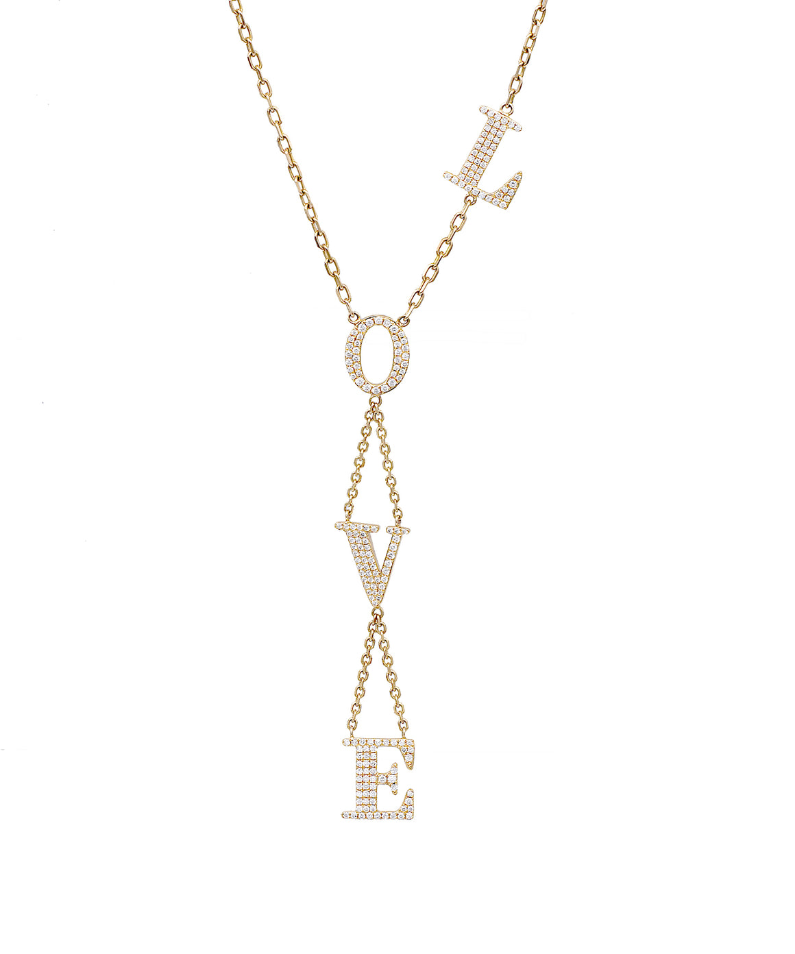 LOVE Necklace - Lesley Ann Jewels