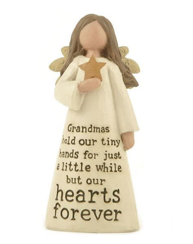 Grandma Holds Our Tiny Hearts Angel