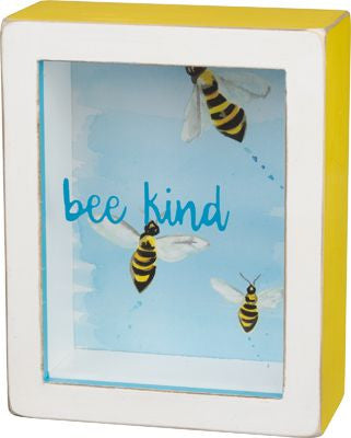 Bee Kind Shadow Box