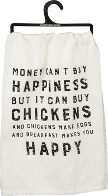Chicken Happiness Dish Towel