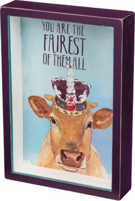 King Cow Shadow Box