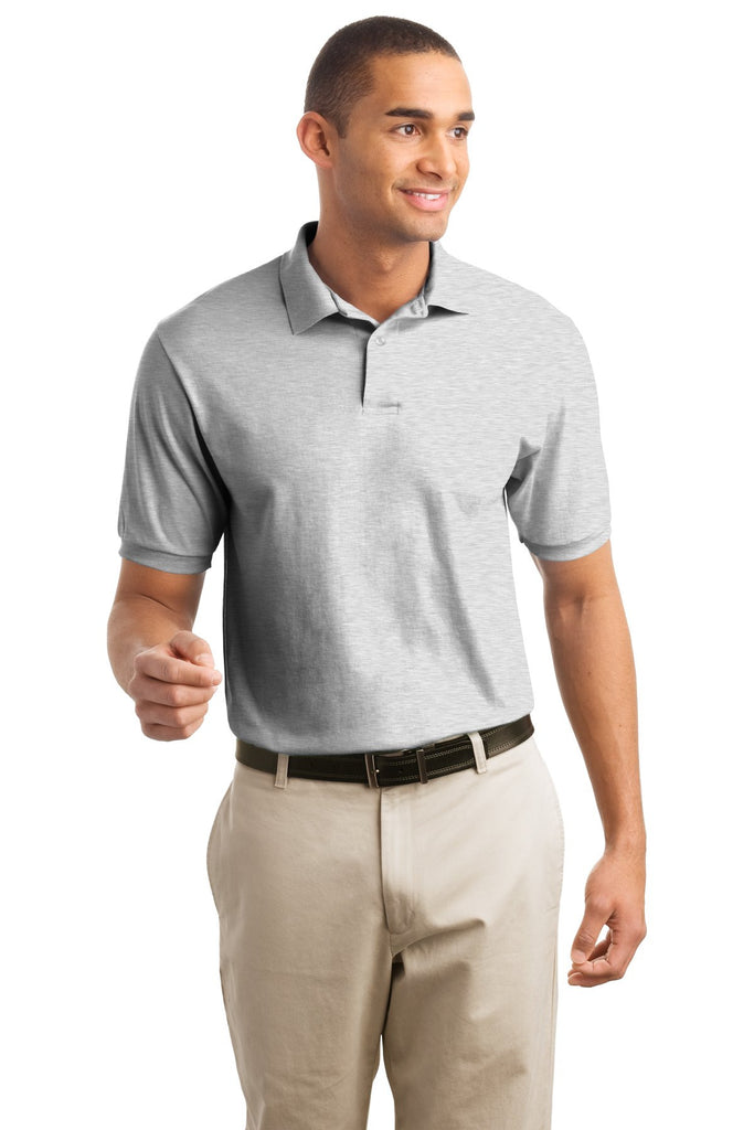 Hanes® EcoSmart® - 5.2-Ounce Jersey Knit Sport Shirt. 054X - Hanes - Officers Only - 1