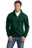 JERZEES® SUPER SWEATS® - 1/4-Zip Sweatshirt with Cadet Collar.  4528M - Jerzees - Officers Only - 3