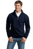JERZEES® SUPER SWEATS® - 1/4-Zip Sweatshirt with Cadet Collar.  4528M - Jerzees - Officers Only - 4