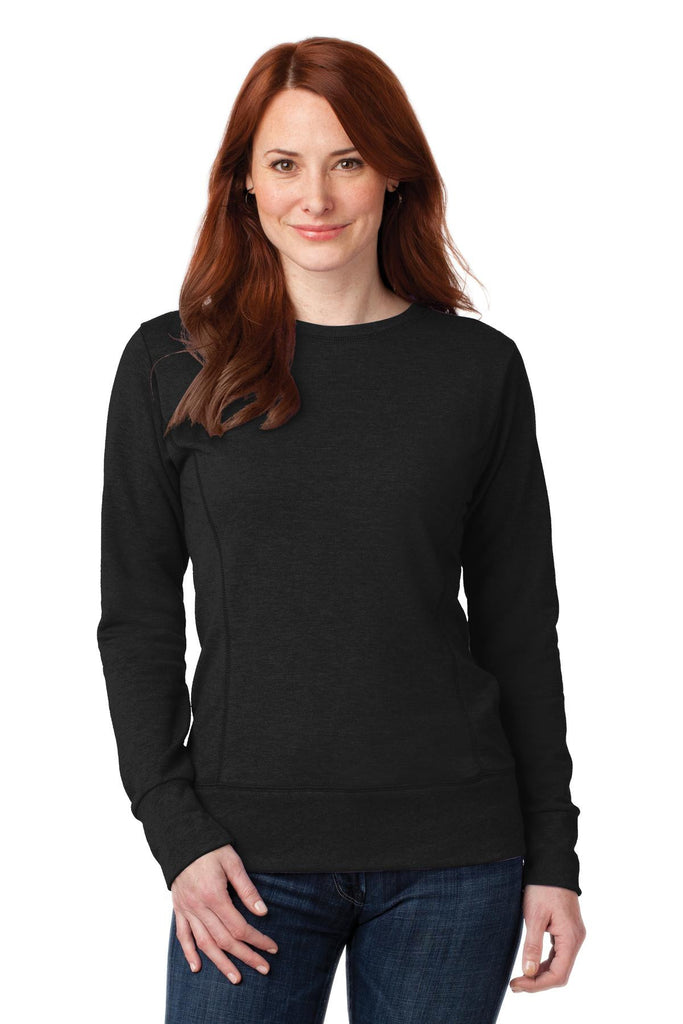Anvil® Ladies French Terry Crewneck Sweatshirt. 72000L - Anvil - Officers Only - 1