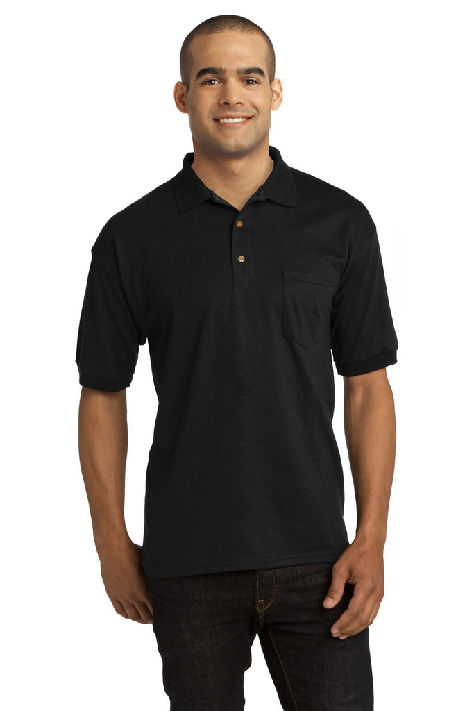 Gildan® DryBlend® 6-Ounce Jersey Knit Sport Shirt with Pocket. 8900 - Gildan - Officers Only - 1