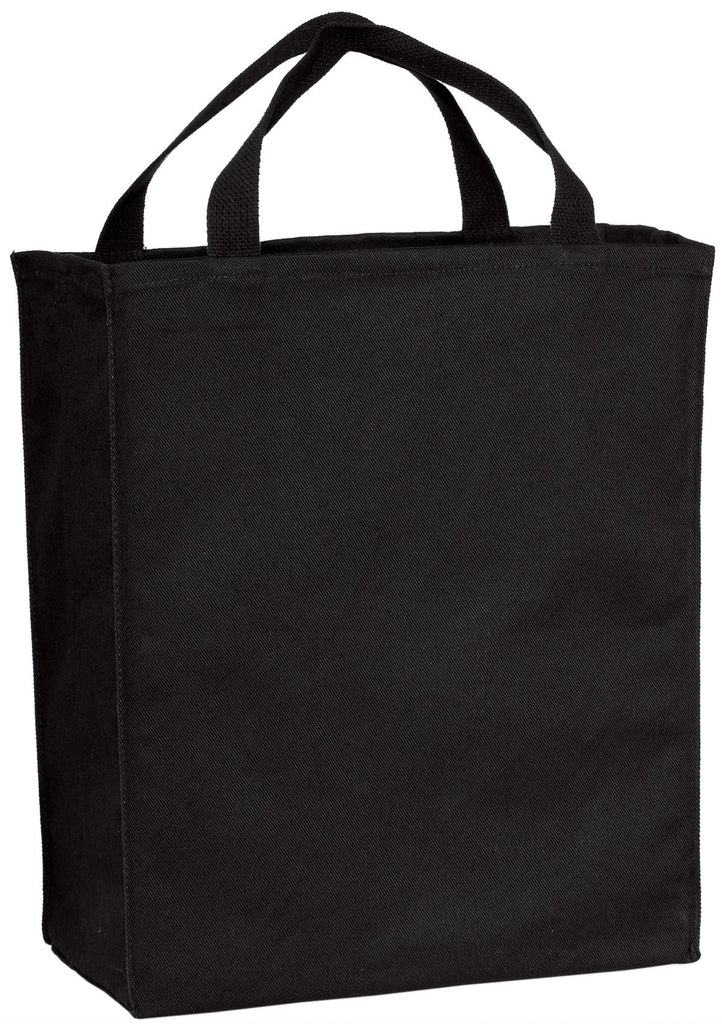 Port & Company® Grocery Tote.  B100 - Port & Company - Officers Only - 1