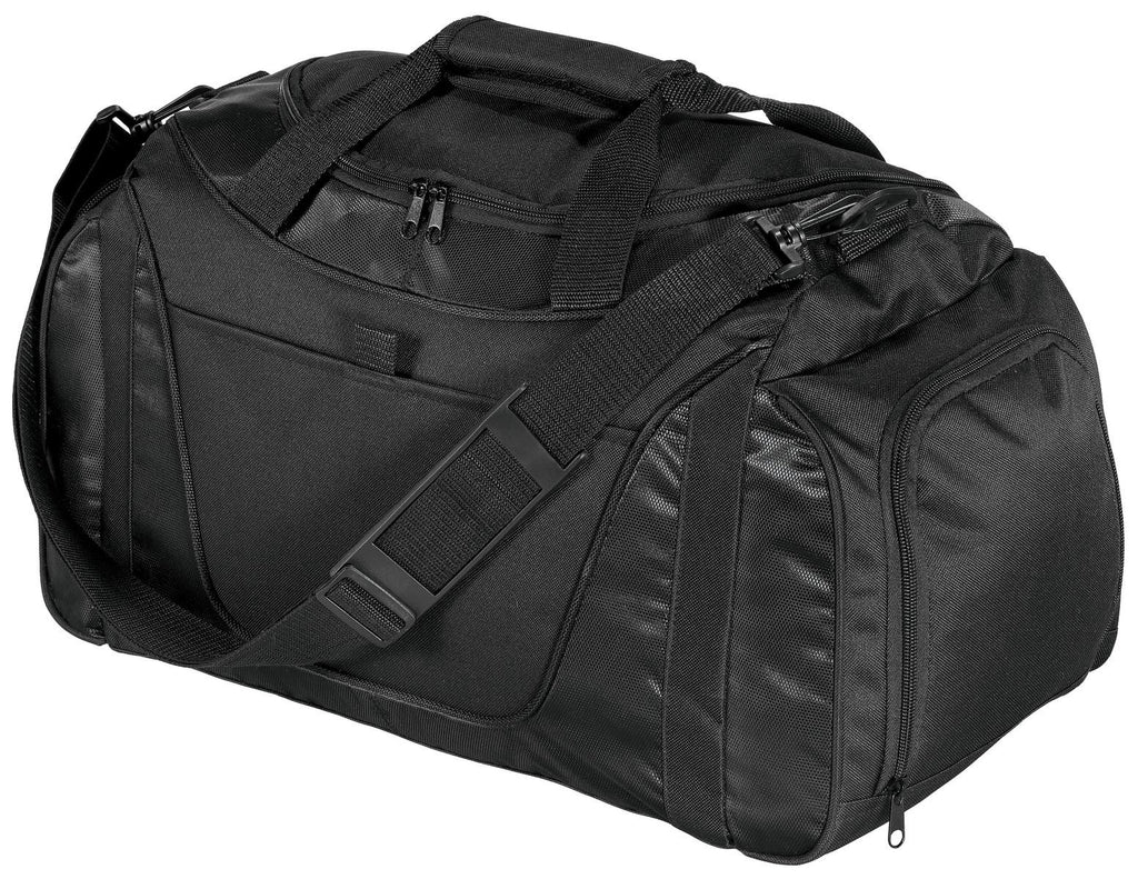 Port & Company® - Two-Tone Small Duffel. BG1040 - Port & Company - Officers Only - 1