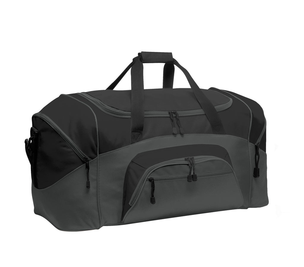 Port & Company® - Colorblock Sport Duffel.  BG99 - Port & Company - Officers Only - 1