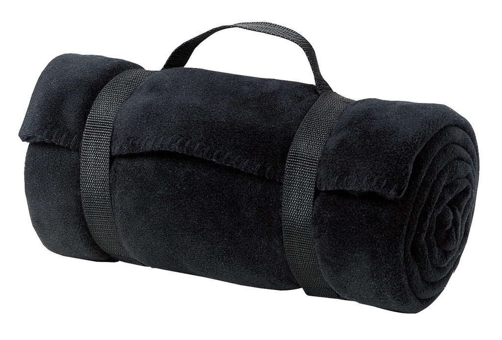 Port & Company® - Value Fleece Blanket with Strap.  BP10 - Port & Company - Officers Only - 1