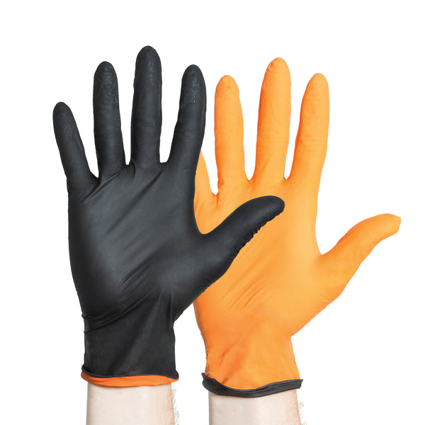 Black-Fire Powder-Free Nitrile Exam Gloves Introductory Special